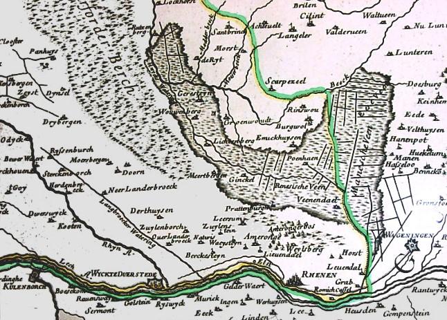 Veenendaal en Rhenen in 1681