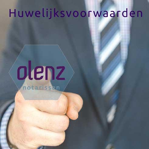 Huwelijksvoorwaarden en Olenz Notarissen