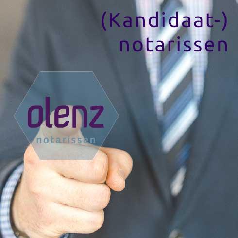 (Kandidaat-) notarissen en Olenz notarissen