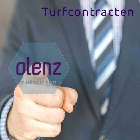Turfcontracten en Olenz Notarissen