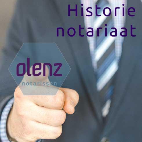 Historie notariaat